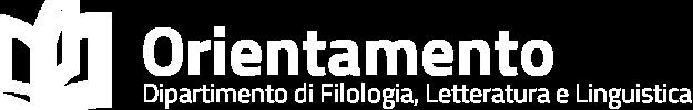 Orientamento – Dipartimento di Filologia, Letteratura e Linguistica